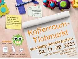 Kofferraumflohmarkt für Baby-/Kindersachen 11.September 2021