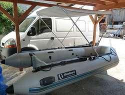 Schlauchboot Komplettset Allroundmarin AS380 mit 25 PS