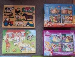 Kinderpuzzle, über 20 verschiedene Puzzle