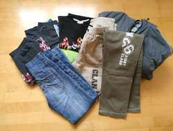 diverse Kleidungsstücke für Jungs Gr. 128 bis 158