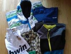 Kleidung für Jungen von ca. 8 bis 16 Jahre, Schuhe, Bücher, divers