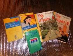 Spanisch, 4 Bücher und 3CDs