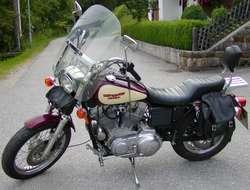 Sehr schöne Harley Sportster