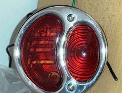Retro' Motorrad Rücklicht C Chrome