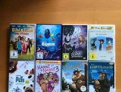 8 Kinder-DVDs