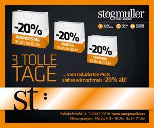 Stögmüller 3 tolle Tage