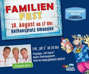 Gmundner Molkerei Familienfest 2018