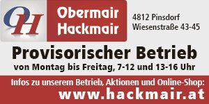 Obermair Hackmair Provisorischer Betrieb