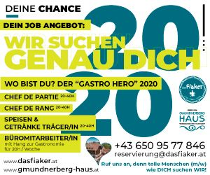 Gmundnerberghaus Job Angebot