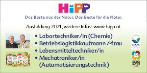 Hipp Ausbildung 2021