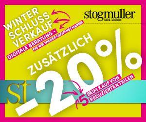 Stögmüller Winterschlussverkauf WSV