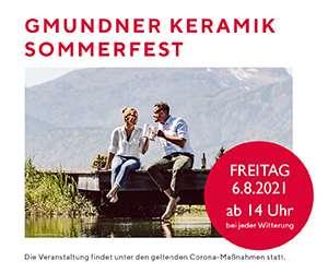 Gmundner Keramik Sommerfest