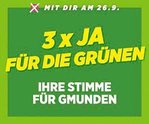 Grüne Gmunden Stadt