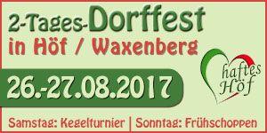 Dorffest in Höf