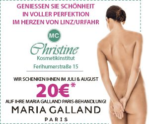 Kosmetik Christine € 20,- geschenkt