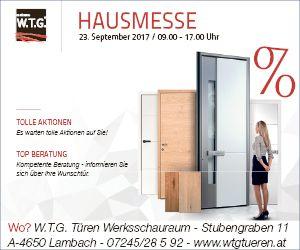 W.T.G. Türen Hausmesse