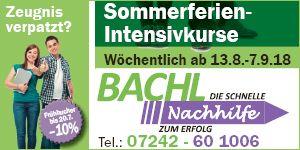Bachl Nachhilfe, Kd.-Nr. 615223