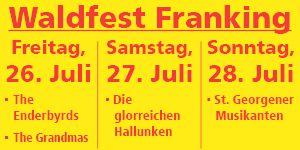 Waldfest Franking