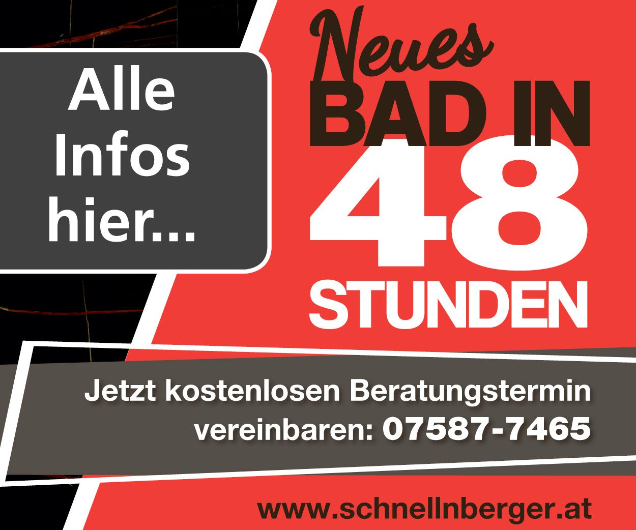 W20 Neues Bad in 48h