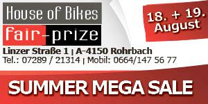 Fahrräder Abverkauf Fair Prize