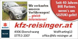 Banner Suzuki Reisinger