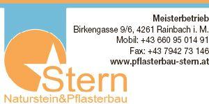 W21 Pflasterbau Stern