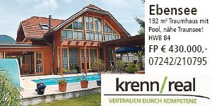 Traumhaus in Ebensee
