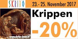 Skribo Krippenaktion -20%