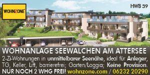 S17   Wohnzone Region Attersee