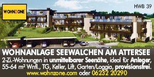 Wohnzone Region Attersee