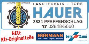 Johann Hauer Garagentoranbieter
