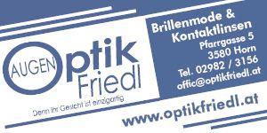 Augenoptik Friedl OR Horn