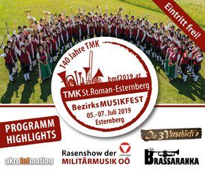 TMK St. Roman - Esternberg, Bezirksmusikfest