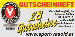 Vasold Gutscheinheft