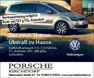 Der neue Sharan Porsche Kirchdorf