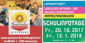 Banner Gießhübl Bildungshof