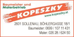 Baumeister Kopeszky