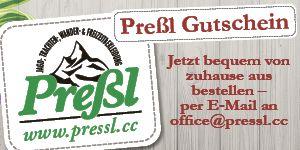 NÖ hilft - Banner Preßl Gutscheine