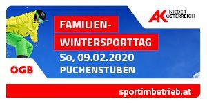 Familien Wintersporttage Verschiebung