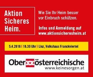 OÖ Versicherung Content Banner 22.3. Linz