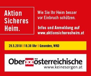 OÖ Versicherung Content Banner 15.5. Gmunden