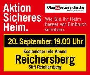 OÖ Versicherung Content Banner 15.2. Linz 6.9. Ried