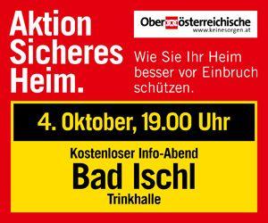 OÖ Versicherung Content Banner 20.9. Gmunden