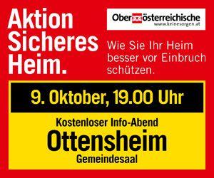 OÖ Versicherung Content Banner 25.9. Urfahr-Umgebung