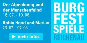 Burgfestspiele Reichenau